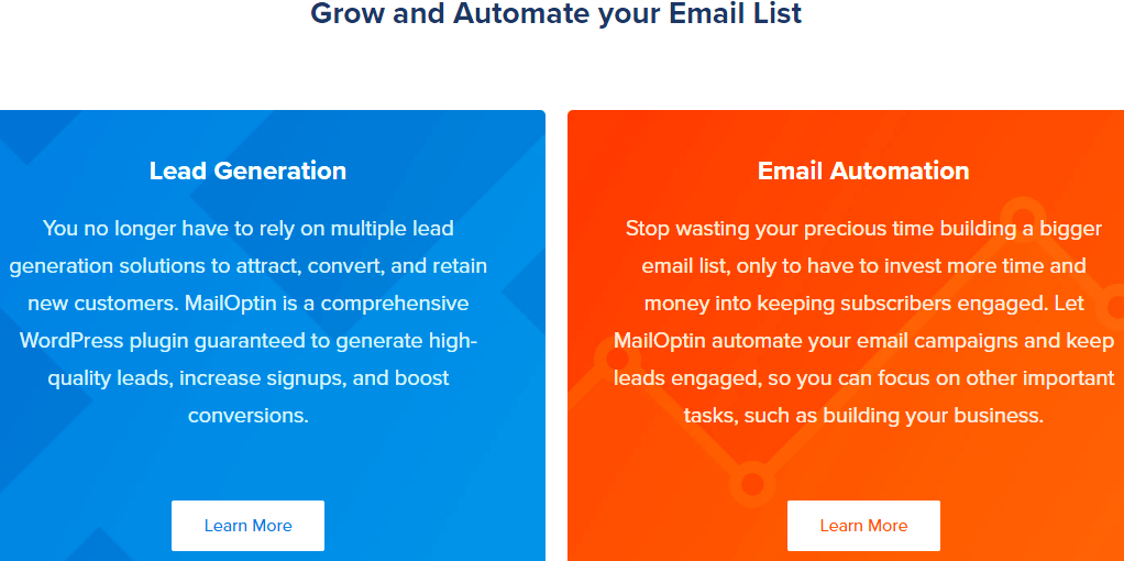 Grow and automate your marketing email list with MailOptin
