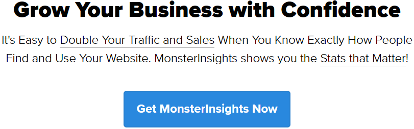 Grow your e-commerce business with confidence using MonsterInsights WordPress marketing plugin