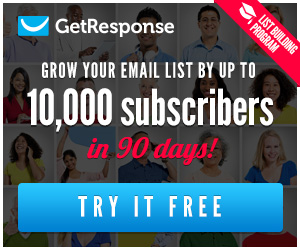 GetResponse free trial and grow your business and email marketing list