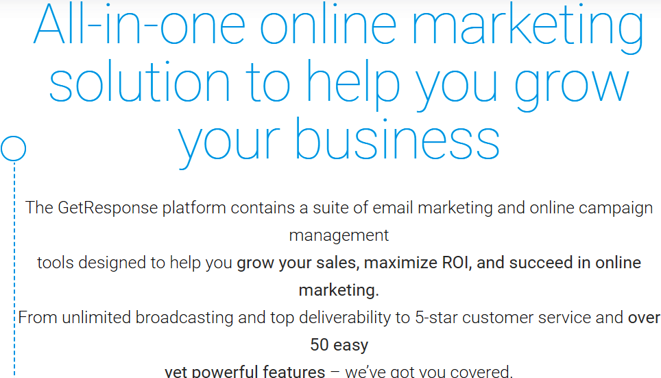 All in one online marketing solution to grow your business