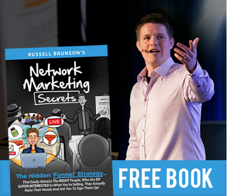 The ClickFunnels Network Marketing Secrets free book